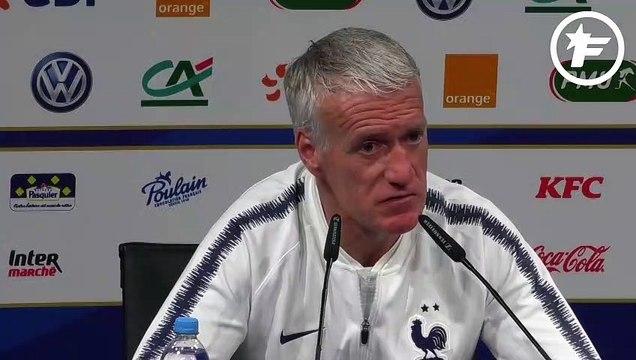 Didier Deschamps évoque les difficultés de Lemar à l'Atlético