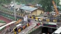 Une dizaine de voitures GT se rentrent dedans en pleine course à Macau... Incroyable