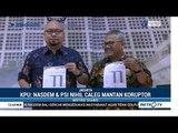KPU Kembali Umumkan Daftar Caleg Eks Koruptor
