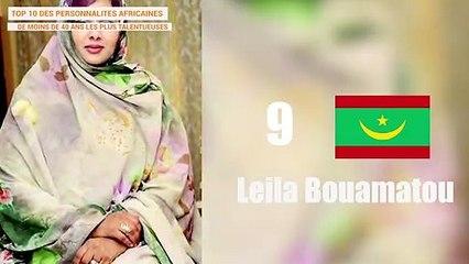 TOP 10 DES PERSONNALITÉS AFRICAINES DE MOINS DE 40 ANS LES PLUS TALENTUSEUSES