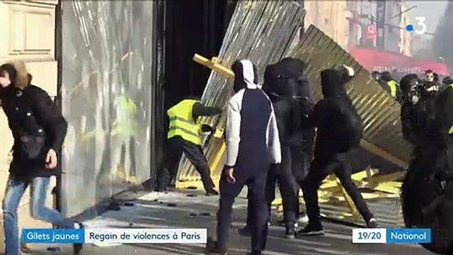 """Ecoutez ces gilets jaunes qui ne cachent pas leur joie de voir le Fouquet's pillé et brûlé hier lors de la manifestation : """"C'est un symbole !"""""""