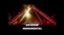 Le show des Red Hot Chili Peppers devant la pyramide de Khéops
