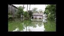 Les images de la Birmanie et de ses voisins inondés par une mousson particulièrement intense