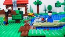 LEGO Hulk Brick Building STOP MOTION | Hulk LEGO House Building | LEGO Hulk | By LEGO Worlds