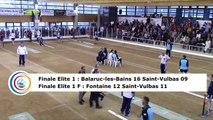 Troisième tour, tir progressif, E1 : Balaruc-les-Bains contre Saint-Vulbas, E1F : Fontaine contre Saint-Vulbas, Saint-Maurice l'Exil 2019