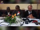Conférence de presse de Me Dupond Moretti et du collectif des avocats de Maurice KAMTO