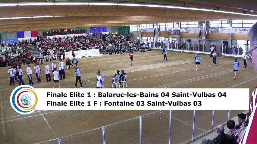 Second tour, E1 : Balaruc-les-Bains contre Saint-Vulbas, E1F : Fontaine contre Saint-Vulbas, Saint-Maurice l'Exil 2019