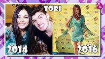 Célébrité Nickelodeon Avant et Après 2016 (Avant et Après Stars Nickelodeon)