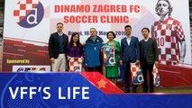 CLB Dinamo Zagreb hướng tới phát triển đào tạo bóng đá trẻ tại Việt Nam | VFF Channel