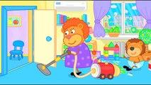 Lion de la Famille – dessin animé pour les Enfants, Nous Voler avec les Nuages