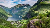 Best of Norway [4K] Drone View & Time Lapse | Fantastic Fjords, Mountains, Lakes, Lagoons