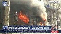 Pris au piège par les flammes de cet immeuble parisien, ces habitants ont été sauvés par les pompiers