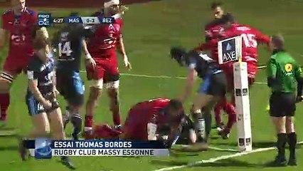 PRO D2 - Résumé Massy-Béziers_ 24-27 - J24 - Saison 2018_2019