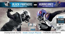 Elite 2019 - Journée 6 - Black Panthers vs Hurricanes