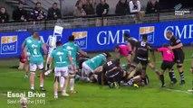 J24 - ProD2 : Brive 45 - 14 Provence Rugby (15/03/2019)