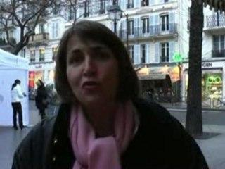 Christine Albanel dans le 4ème.