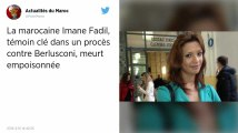 Italie. Mort mystérieuse d'une témoin avant un procès contre Berlusconi