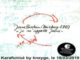 Jane Birkin & Mickey 3D_Je m'appelle Jane (GV)(2004)