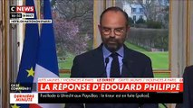 """Le Premier ministre annonce l'interdiction des manifestations """"dans les quartiers les plus touchés"""" sous certaines conditions - Le préfet de police de Paris, Michel Delpuech, remplacé"""