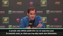 Indian Wells - Federer, la positive attitude