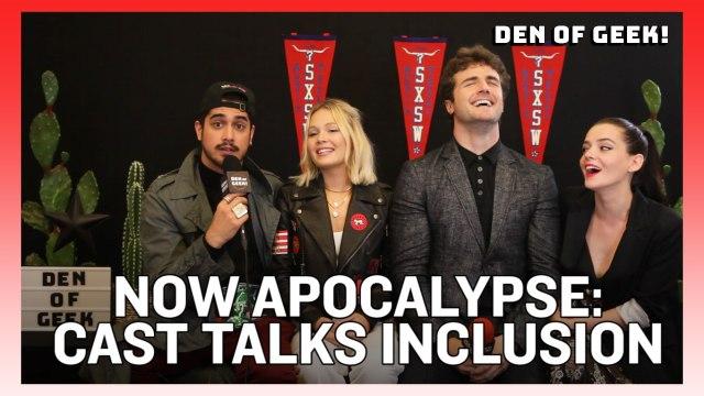 Now Apocalypse - The Cast Discusses Inclusion