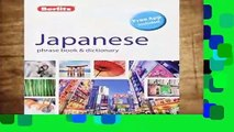 Library  Berlitz Phrase Book   Dictionary Japanese (Bilingual dictionary) (Berlitz Phrasebooks) -