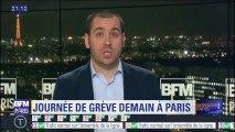 Conducteurs de bus, professeurs, contrôleurs aériens... Une journée de grève mardi à Paris