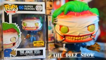 DC  COMICS THE JOKER DEATH OF THE FAMILY FUNKO POP HOT TOPIC EXCLUSIVE DETAILED LOOK DC COMICS