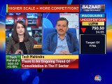 Ongoing trend of consolidation in IT sector: Manoj Bhat, CFO, Tech Mahindra