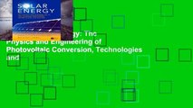 Library  Solar Energy: The Physics and Engineering of Photovoltaic Conversion, Technologies and