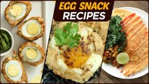 Egg Snack Recipes - Quick & Easy Egg Dishes - Non-Veg Snack Recipes