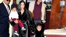 Kim Kardashian Is Being Mom-Shamed for Letting North Wear Lipstick to Church