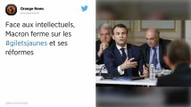 Gilets jaunes, ISF, loi de 1905, PMA… Ce qu'Emmanuel Macron a dit aux intellectuels