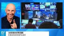 """Anne Hidalgo est venue constater les dégâts sur les Champs-Élysées : """"Je suis en direct de la poubelle avenue du monde !"""" (Canteloup)"""