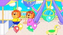 Lion de la Famille de la Bouillie est Délicieux dessin animé pour Enfants