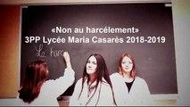 """Prix académique """"Non au harcèlement"""" 2019 - Vidéo du lycée professionnel Maria Casarès d'Avignon"""