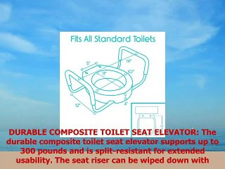 Admirable Vive Toilet Seat Riser With Handles Raised Toilet Seat With Padded Arms For Handicapped Pdpeps Interior Chair Design Pdpepsorg