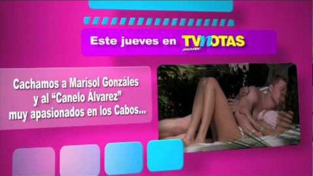"""Marisol González y """"Canelo Álvarez"""" muy apasionados en los Cabos"""