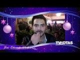 Navidad TVNotas 2014 José Eduardo Derbez, Esmeralda y Roger González