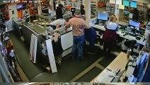 Trois jeunes tentent de voler une arme dans une armurerie  Mauvaise idée
