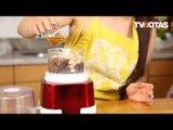 Claudia Lizaldi cómo preparar pie crudivegano en el Especial Cocina TVNotas