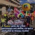 Manifestations à Toulon, Incendie à Draguignan, Jackpot à La Ciotat: voici votre brief info de ce mardi après-midi