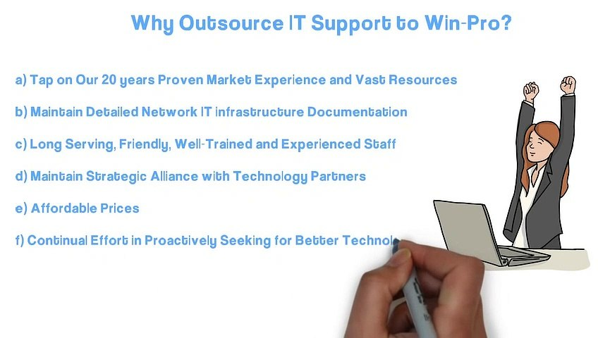 IT Support Services Company in Singapore - Win-Pro