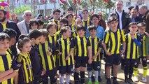 Fenerbahçe'nin Avrupa Ligi şampiyonluğu anıtı açıldı - İSTANBUL