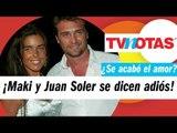 ¡Así anunció Juan Soler su separación con Maki tras 15 años de casados!