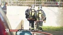 Draguignan : un immeuble ravagé par les flammes