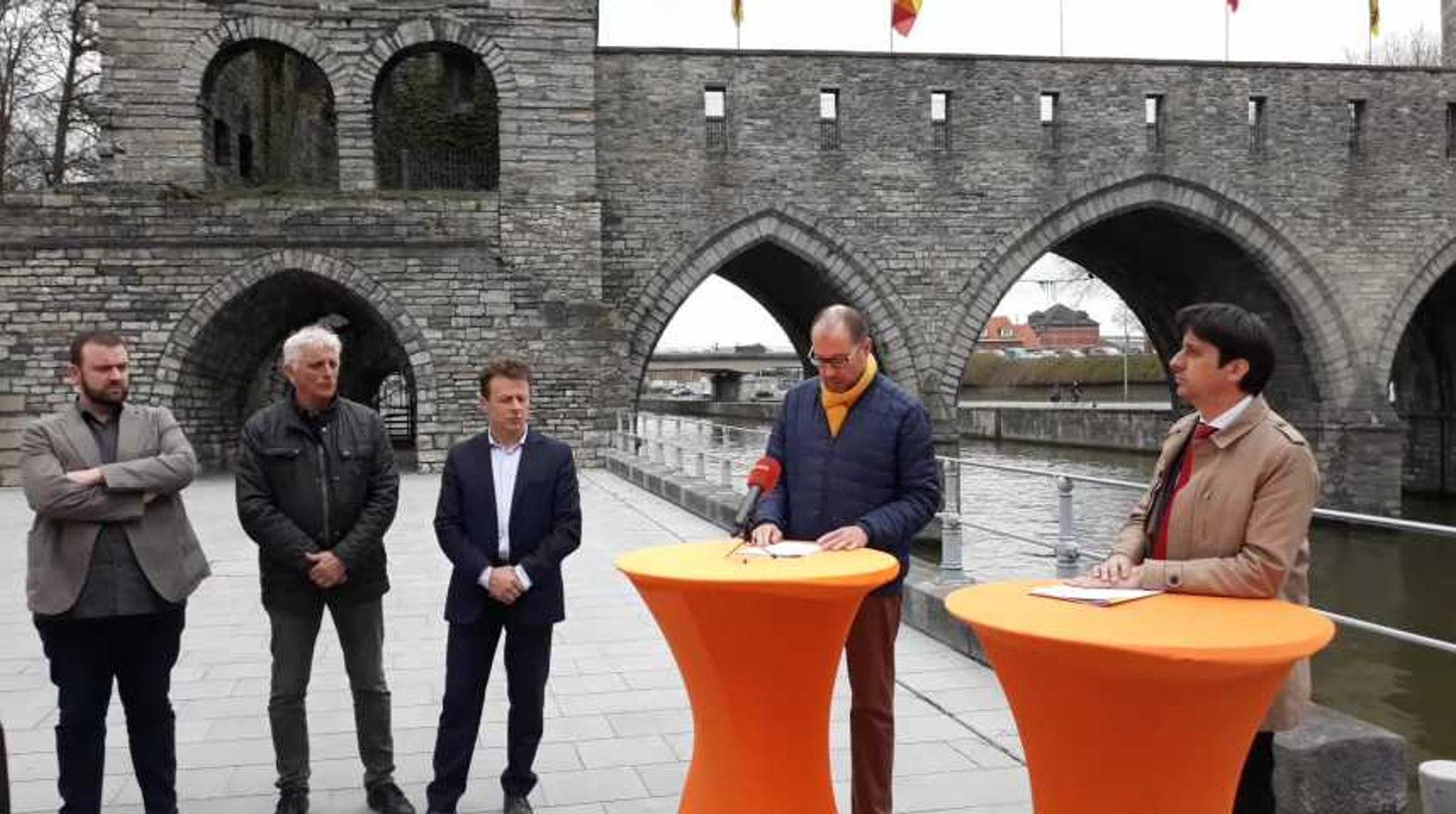 Tournai ministre Carlo Di Antonio au Pont des Trous 19.03.2019