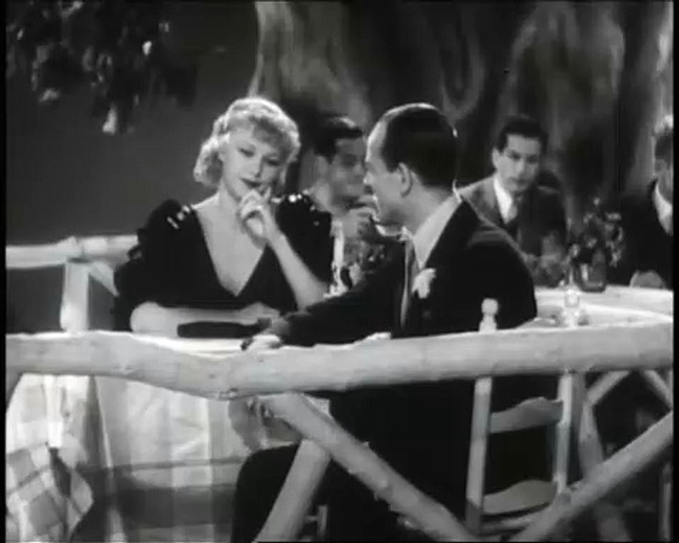 Fred Astaire Ginger Rogers La Carioca Flying Down To Rio Video Dailymotion