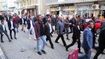AK Parti Silopi Belediye Başkan Adayı İbrahim Tayşun'dan esnaf ziyareti - ŞIRNAK