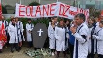 Débrayage à Eolane Douarnenez